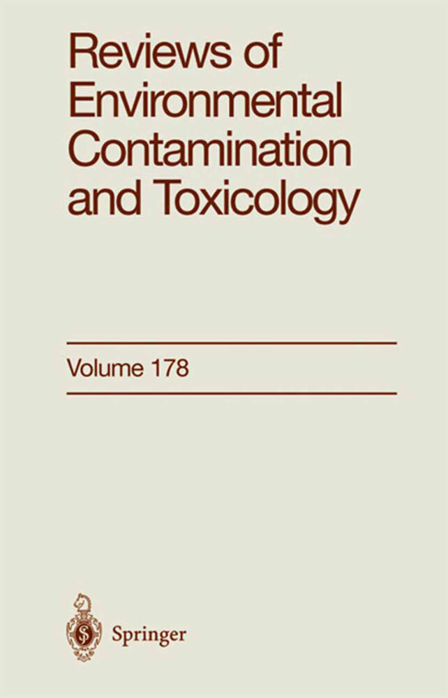 Reviews of Environmental Contamination and Toxicology als Buch