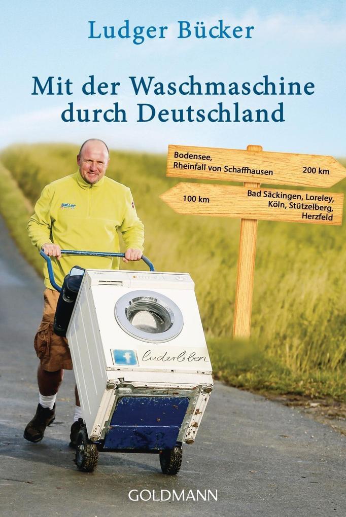 Mit der Waschmaschine durch Deutschland als Tas...