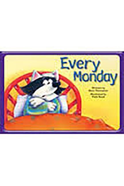 Steck-Vaughn Pair-It Books Emergent 1: Big Book Every Monday als Taschenbuch