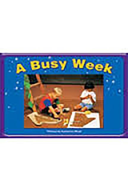 Steck-Vaughn Pair-It Books Emergent 1: Big Book a Busy Week als Taschenbuch