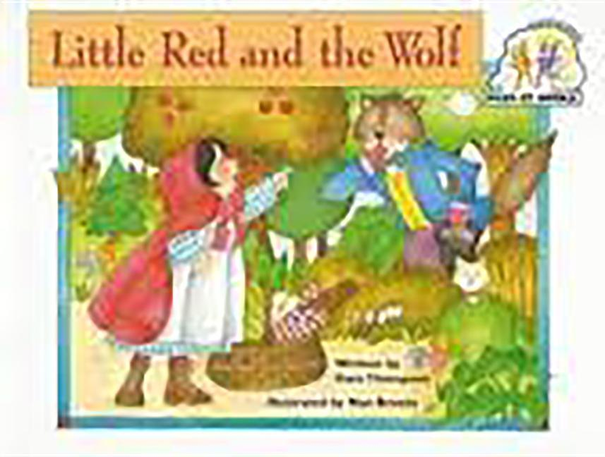 Steck-Vaughn Pair-It Books Emergent 2: Big Book Little Red and the Wolf als Taschenbuch