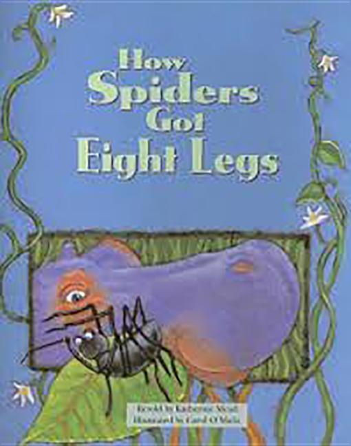 Steck-Vaughn Pair-It Books Early Fluency Stage 3: Big Book How Spiders Got Eight Legs als Taschenbuch