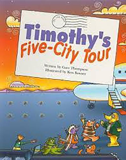 Steck-Vaughn Pair-It Books Fluency Stage 4: Big Book Timothy's Five-City Tour als Taschenbuch