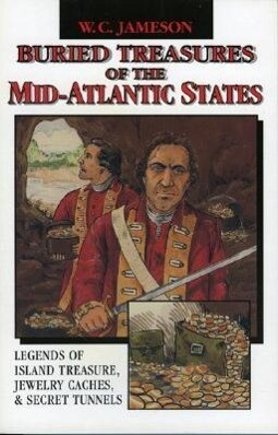 Buried Treasures of the Mid-Atlantic States als Taschenbuch