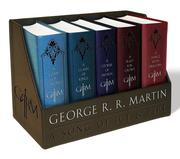 George R. R. Martin's a Game of Thrones Leather Cloth Boxed Set (Song of Ice and Fire Series)