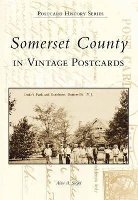 Somerset County in Vintage Postcards als Taschenbuch