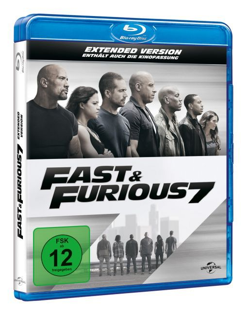Fast & Furious 7 - Extended Version als DVD