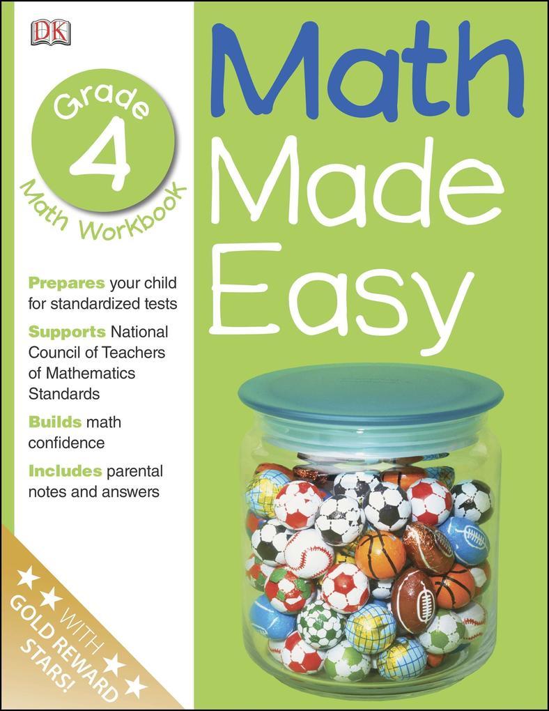 Math Made Easy: Fourth Grade als Taschenbuch