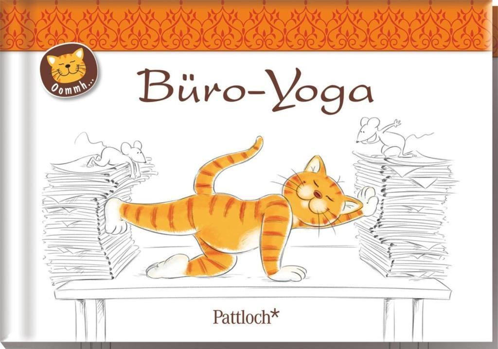 Oommh-Katze: Büro-Yoga (Buch) - portofrei