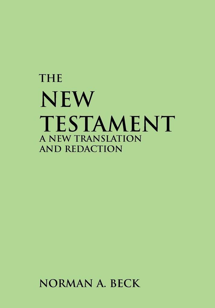 New Testament-OE: A New Translation and Redaction als Taschenbuch