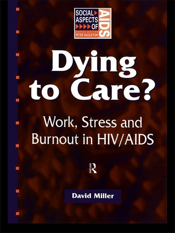Dying to Care als eBook Download von David Miller