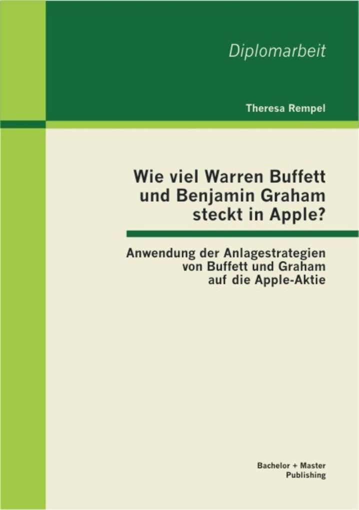 Wie viel Warren Buffett und Benjamin Graham ste...