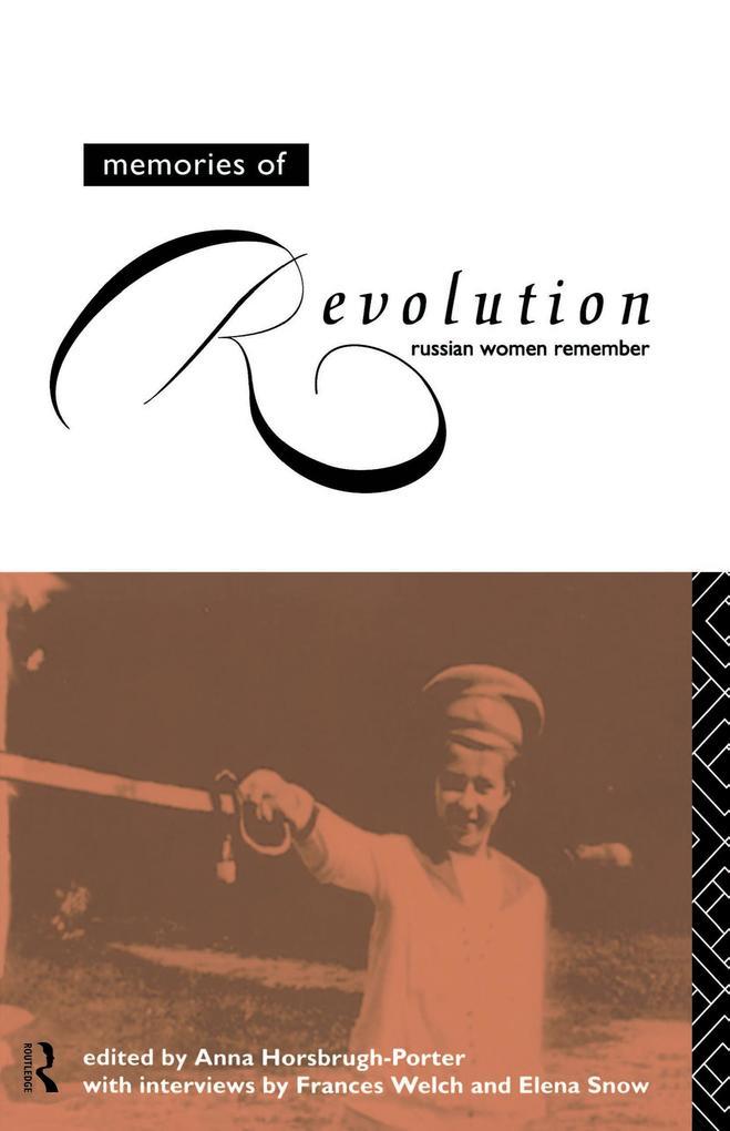 Memories of Revolution als eBook Download von
