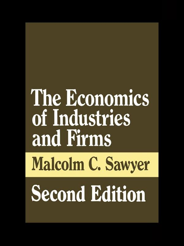Economics of Industries and Firms als eBook Dow...
