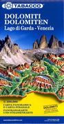 Dolomites Road Panoramic Map 1 : 200 000