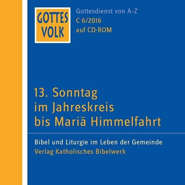 Gottes Volk LJ C6/2016 CD-ROM