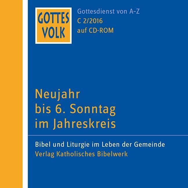 Gottes Volk LJ C2/2016 CD-ROM