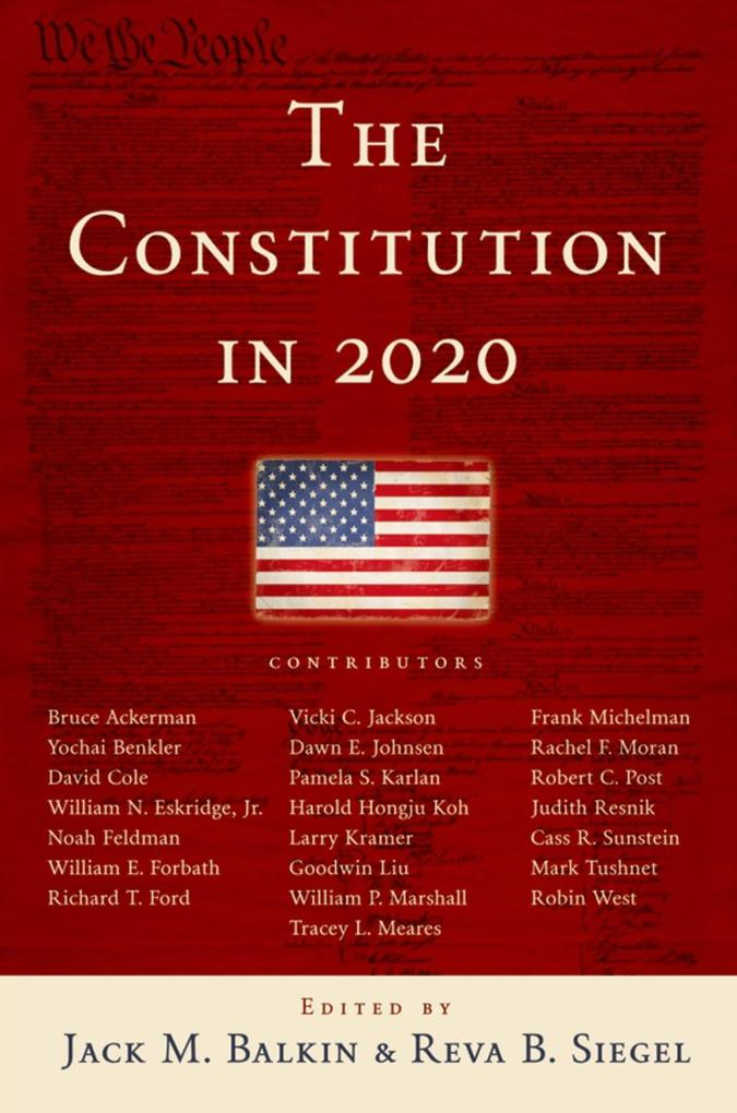 The Constitution in 2020 als eBook Download von