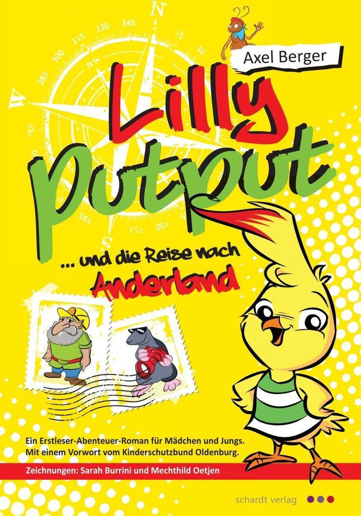Lilly Putput und die Reise nach Anderland als Buch
