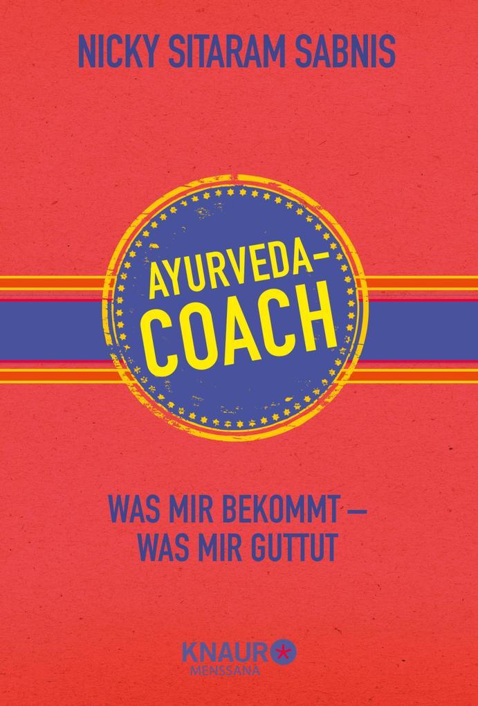 Ayurveda-Coach als eBook epub