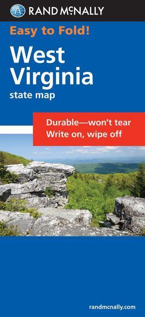 Easy Finder Map West Virginia als Taschenbuch