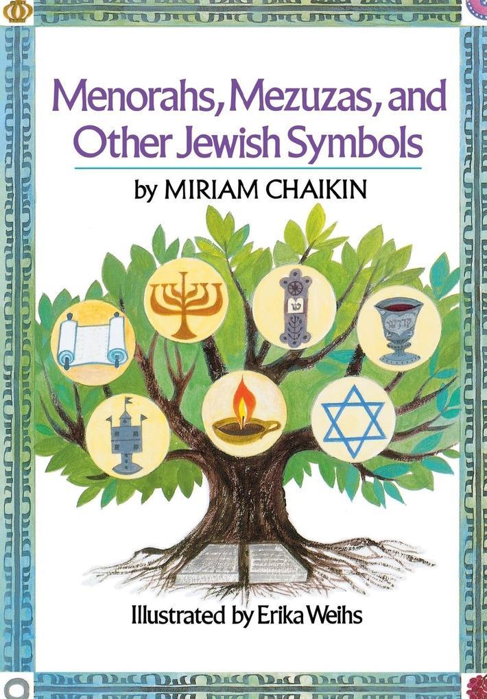 Menorahs, Mezuzas, and Other Jewish Symbols als Taschenbuch