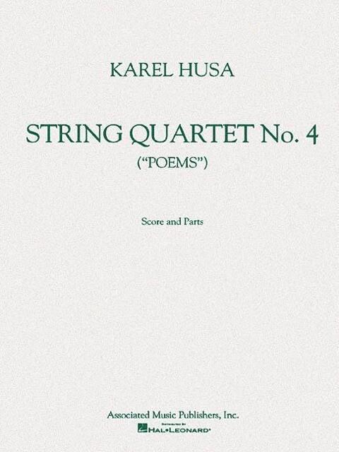 String Quartet No. 4: Poems als Taschenbuch