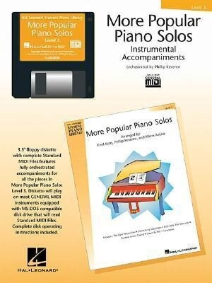 More Popular Piano Solos - Level 3 - GM Disk als Software