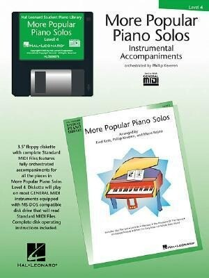 More Popular Piano Solos - Level 4 - GM Disk als Software