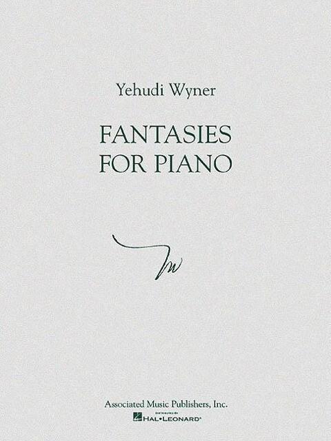 Fantasies for Piano als Taschenbuch