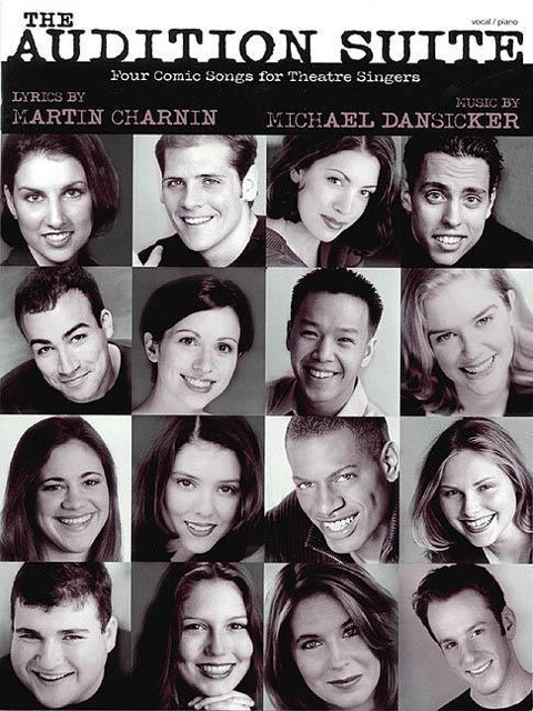 The Audition Suite: Four Comic Songs for Theatre Singers als Taschenbuch