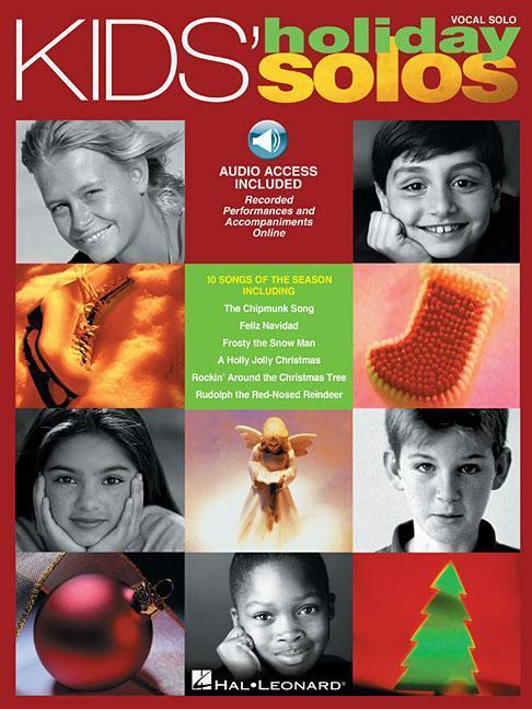Kids' Holiday Solos: Vocal Solos with Online Audio [With CD] als Taschenbuch