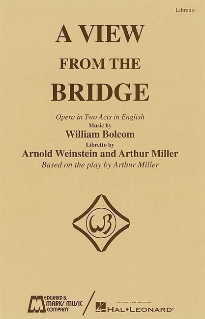 A View from the Bridge: Opera in Two Acts in English als Taschenbuch