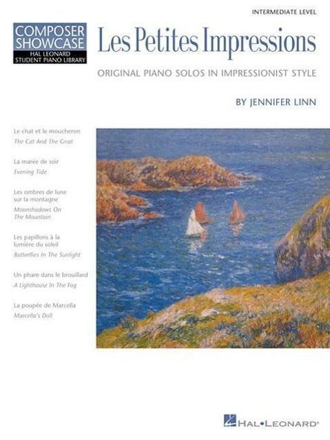 Les Petites Impressions: Original Piano Solos in Impressionist Style: Intermediate Level als Taschenbuch