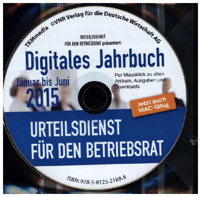 Urteilsdienst für den Betriebsrat Digitales Jah...