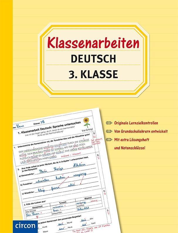 Klassenarbeiten Deutsch 3. Klasse (Buch), Tanja von Ehrenstein
