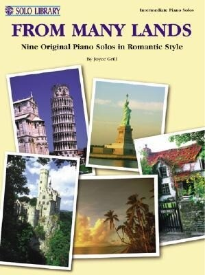 From Many Lands: Nine Original Piano Solos in Romantic Style als Taschenbuch