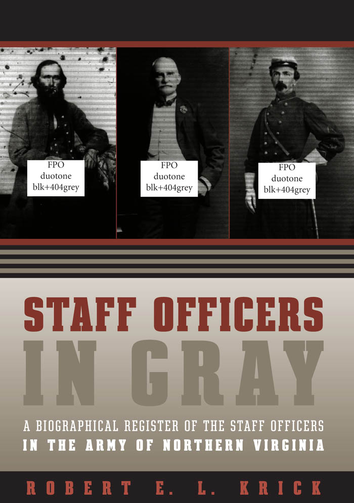 Staff Officers in Gray als eBook Download von R...