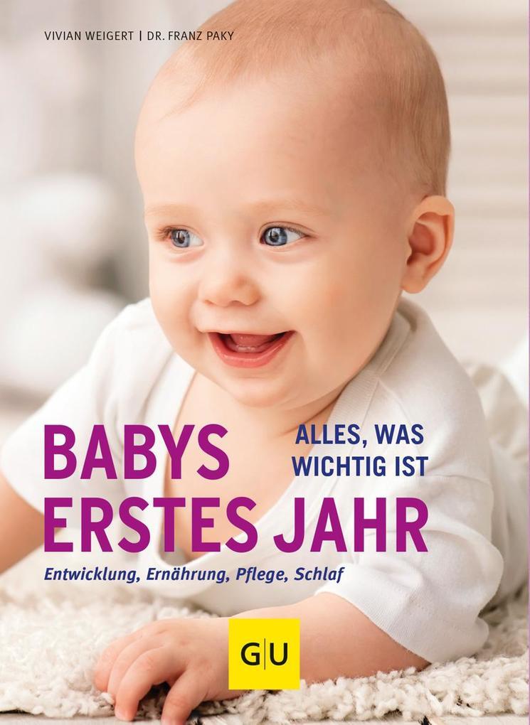 Babys erstes Jahr als Buch