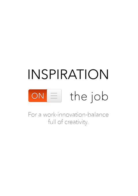 Inspiration on the job als Buch von Benno van A...