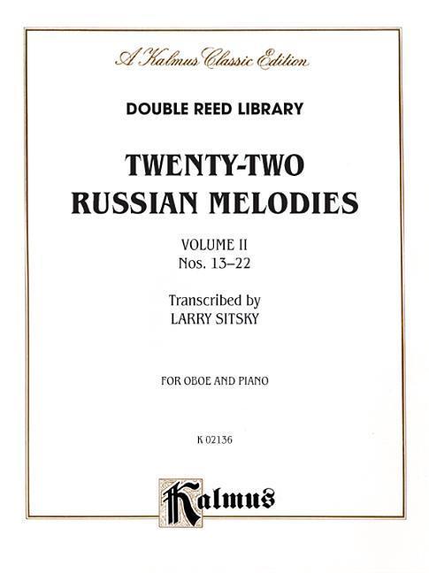 Twenty-Two Russian Melodies, Vol 2: Nos. 13-22 als Taschenbuch