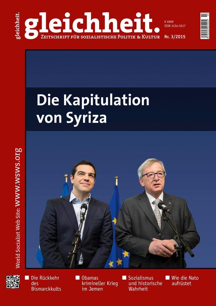 Die Kapitulation von Syriza als eBook