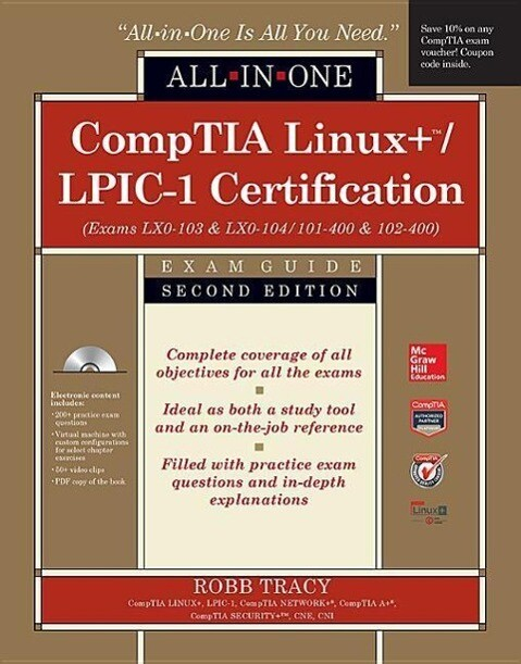 CompTIA Linux+/LPIC-1 Certification All-in-One ...