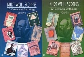 Kurt Weill Songs -- A Centennial Anthology, Vol 1 & 2: Piano/Vocal/Chords als Taschenbuch