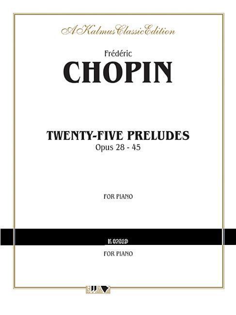 Twenty-Five Preludes, Op. 28-45 als Taschenbuch