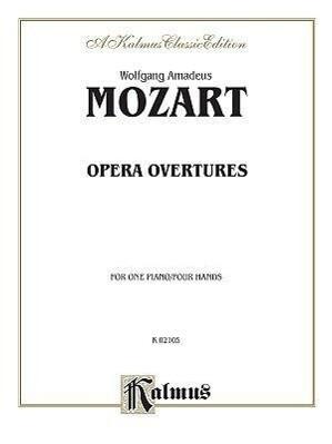 Opera Overtures: Arrangements als Taschenbuch