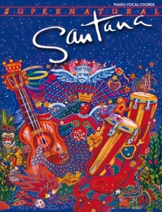 Carlos Santana -- Supernatural: Piano/Vocal als Taschenbuch