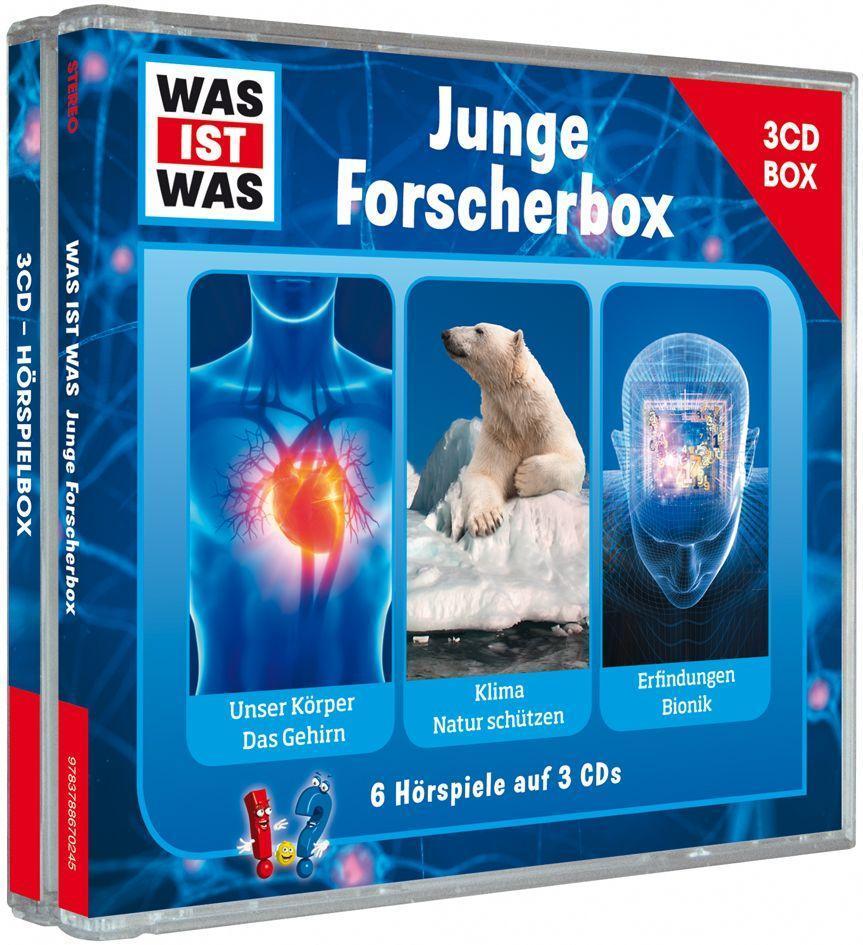 Was ist was Hörspielbox: Junge Forscher-Box als...