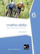 mathe.delta 6 Lehrermaterial Baden-Württemberg