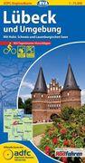 ADFC-Regionalkarte Lübeck und Umgebung mit Tagestouren-Vorschlägen 1 : 75 000